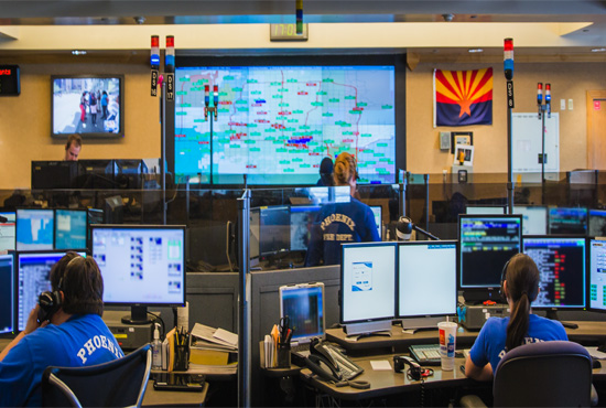 Phoenix Fire Alarm Room Dispatch
