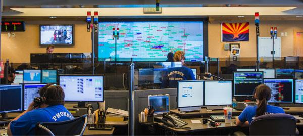 Phoenix Fire Department Regional Dispatch Center