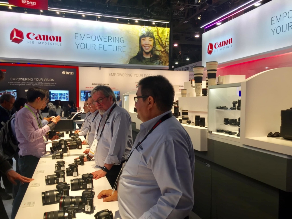 Canon Booth at CES