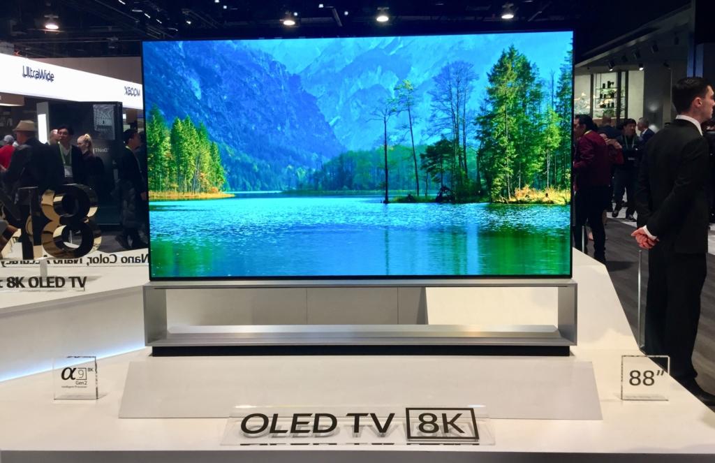 CES OLED TV 8K