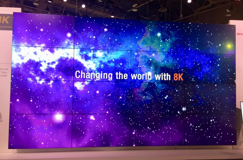 "CES ""The Wall"" 8K"